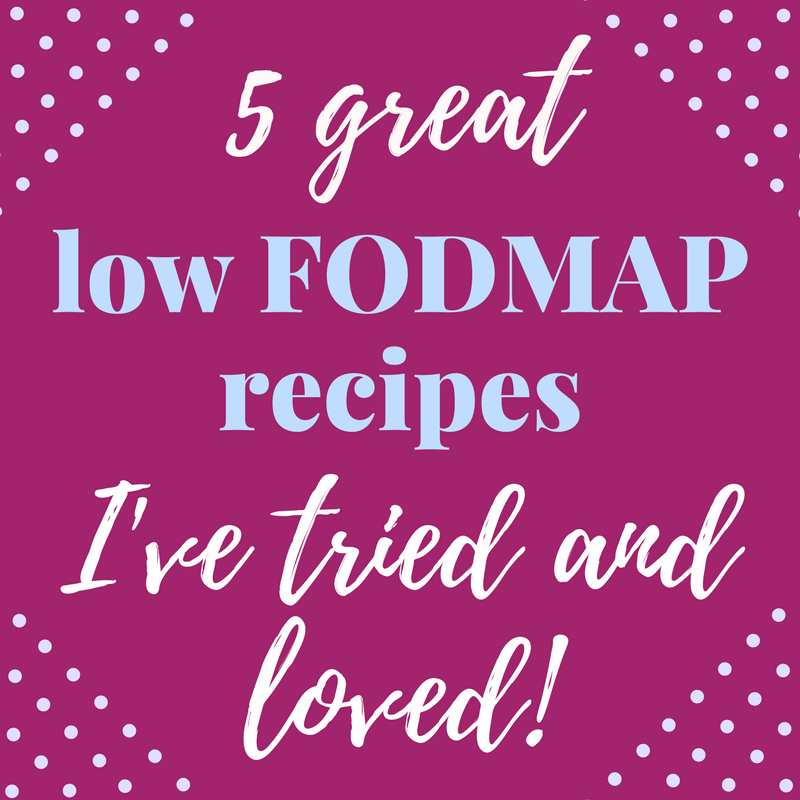 great low FODMAP recipes