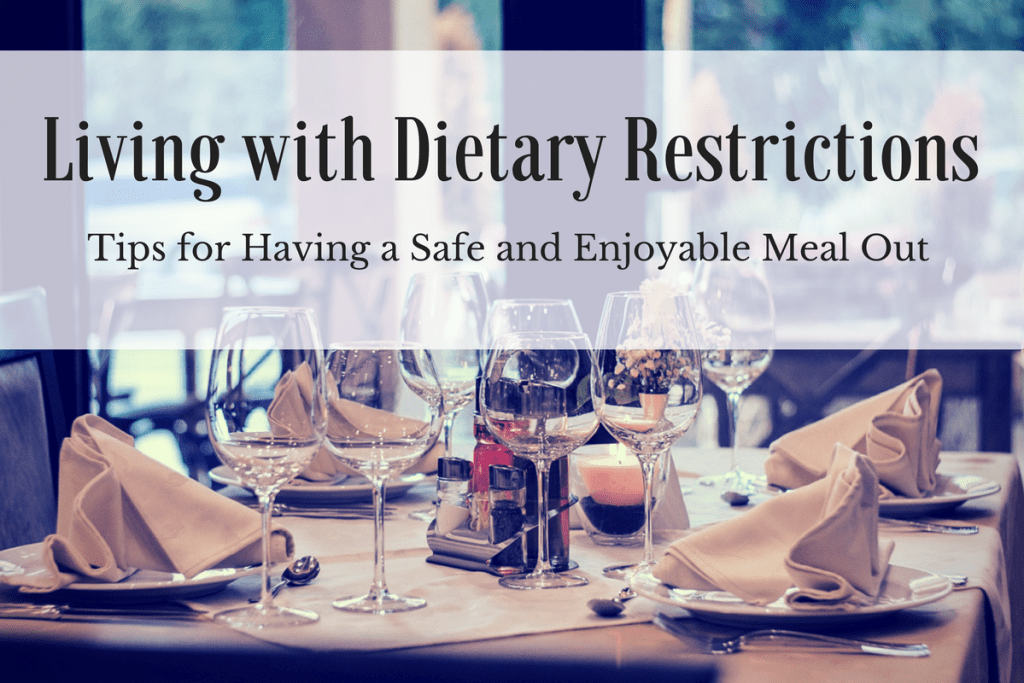 dining out with dietary restrictions