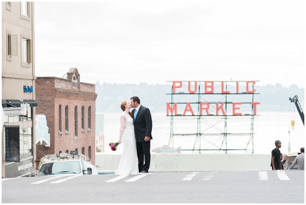 A Seattle Elopement | Seattle Roof Top Views | Inn At the Market | Municipal Courthouse