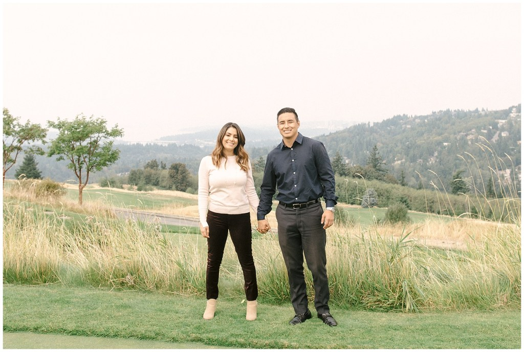 Alondra + Vincent Proposal | THE GOLF CLUB AT NEWCASTLE