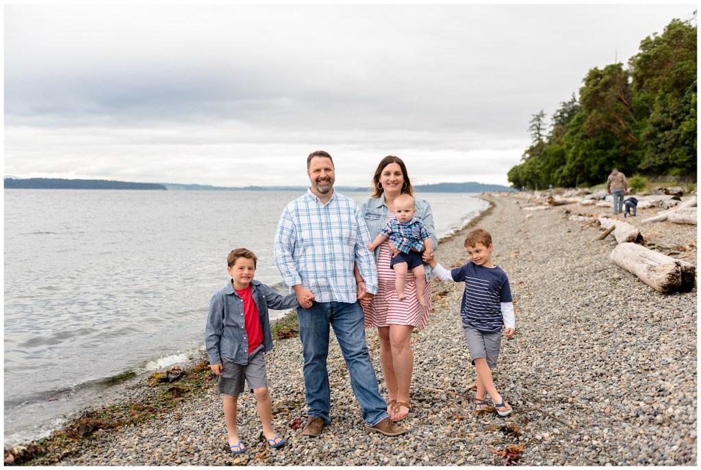 Beman Family Photos at Lincoln Park West Seattle | Lauren Ryan Family Seattle Photographer