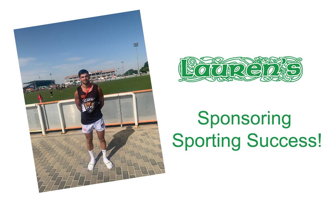 Sponsoring Sporting Success!
