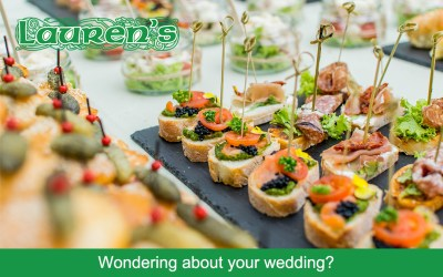 Wondering about your wedding?