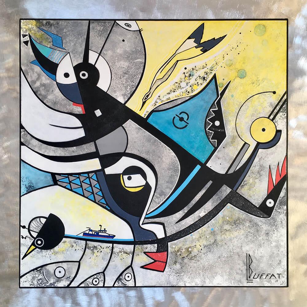 Peintures - Laurent BUFFAT - Artiste plasticien français