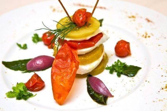 Parmesane d'aubergine - Restaurant Assaggio - hotel Castille