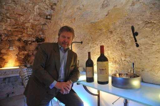 Alain Dominique Perrin : Art de recevoir à la française / Les caves du château Lagrézette
