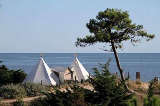 Tente de Original Camping à Noirmoutier