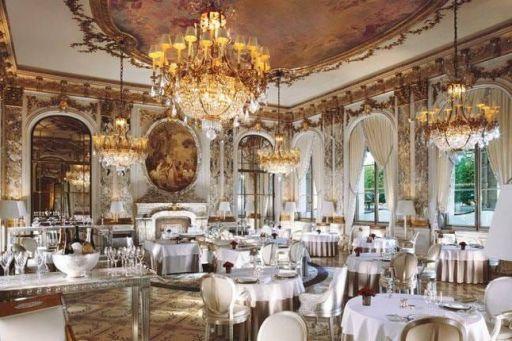 Le restaurant de l'hôtel du Meurice