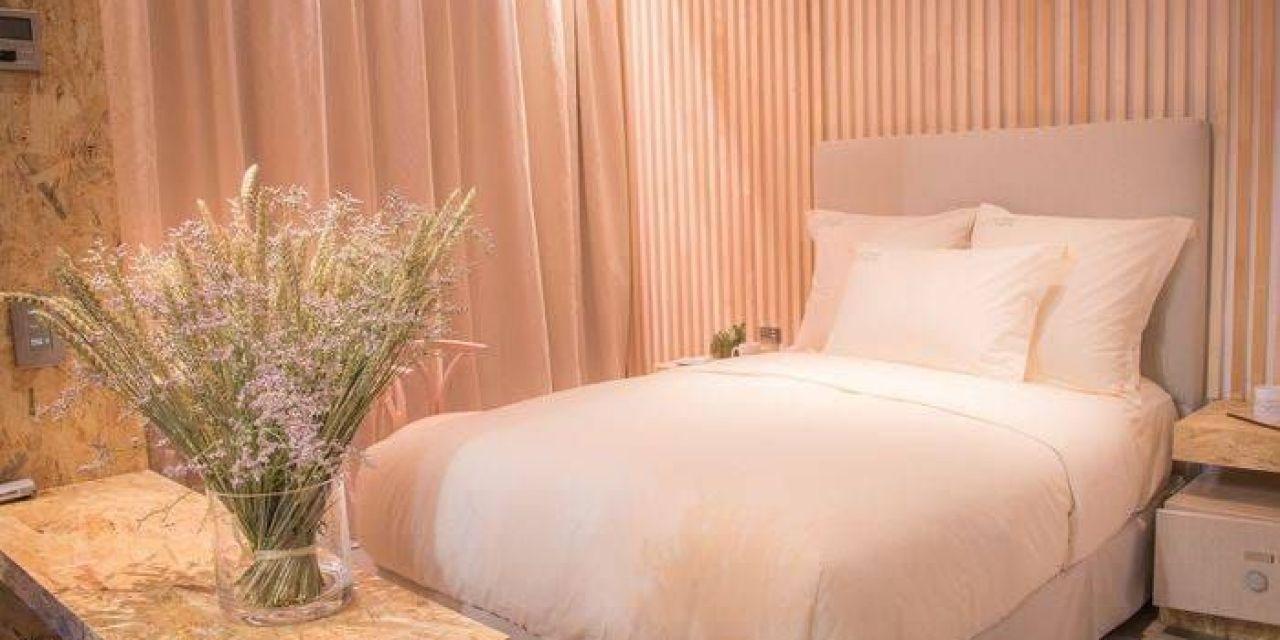 Lit d'hôtel: naturalité et confort