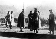 Kaiser Wilhelm II. flieht nach seiner Abdankung ins niederländische Exil. (Quelle: wikipedia)