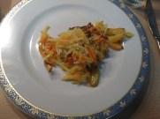 Vorspeise: Möhren-Kartoffel-Röstis mit Salat