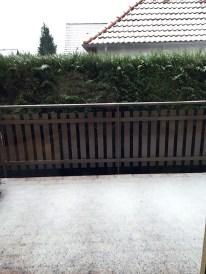 Puis la neige tomba.