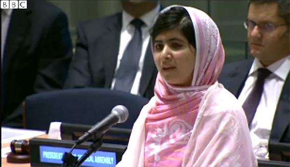 Malala BBC