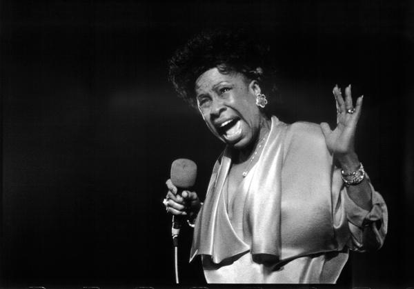 Betty Carter, Lucerna Hall, Prague, 25 october 1986.