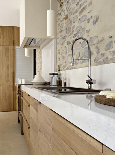 Cuisine Moderne - Un loft à la campagne - Laurent Passe