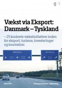 Udenrigsministeriets og Eksportrådets handlingsplan for Vækst via Eksport til Tyskland