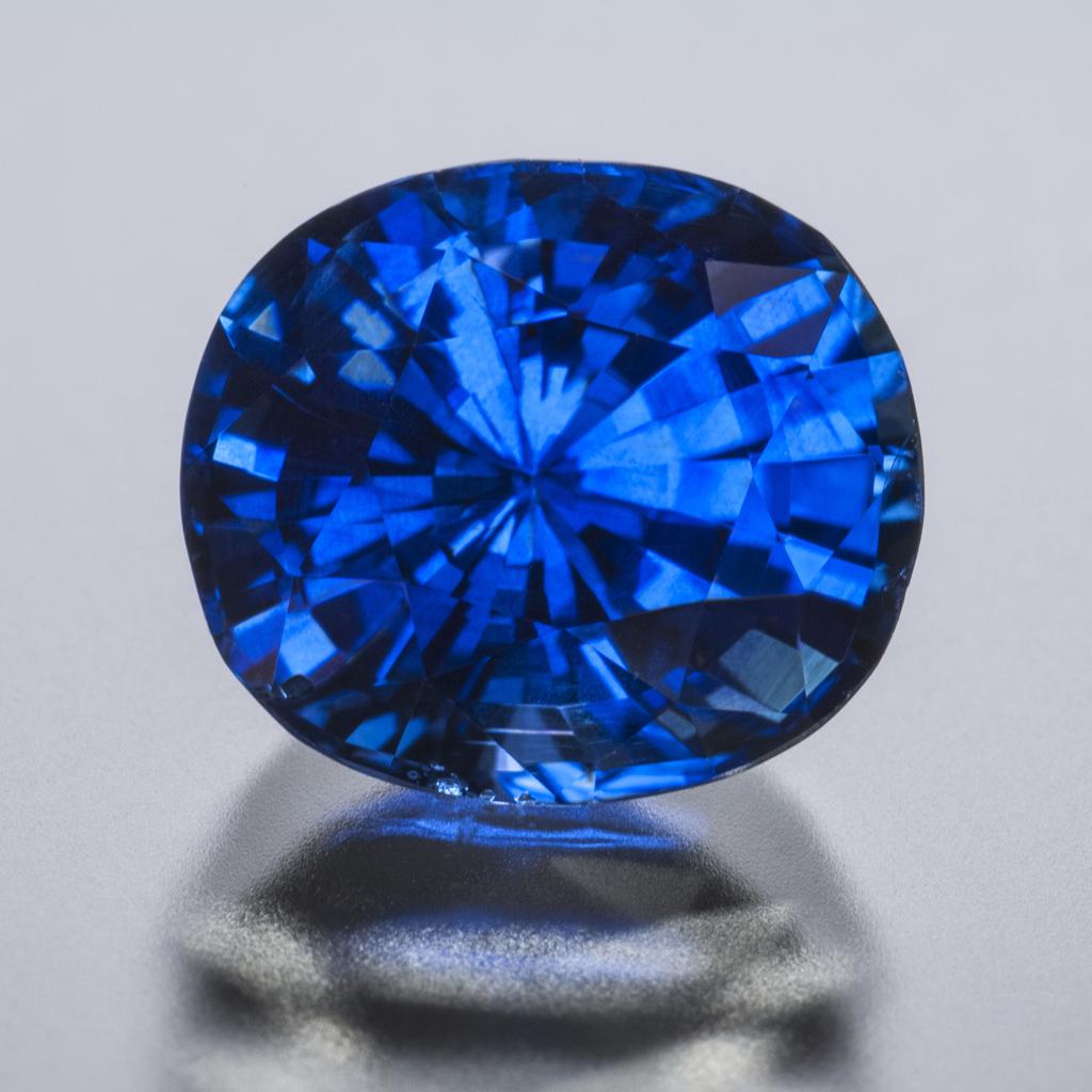 296 Carat Blue Sapphire H