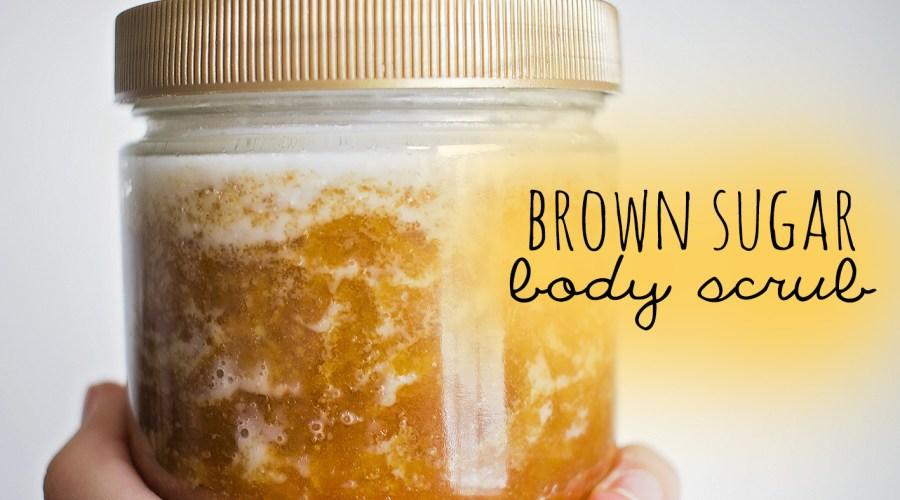 Brown Sugar Body Scrub