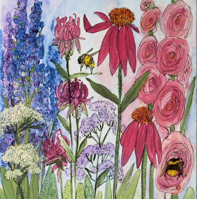 Nature art acrylic original painting
