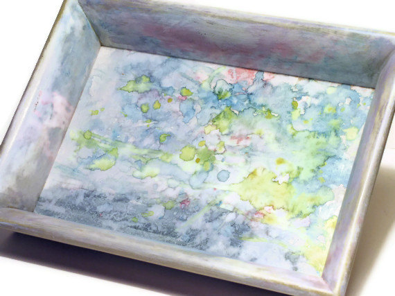 Painted furniture by Laurie Rohner