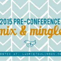 2015 pre-conference mix and mingle