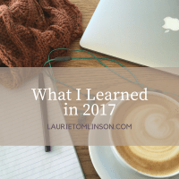 what I learned in 2017