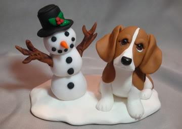 Собаки в качестве украшения на свадебный торт: ruchnye ...