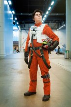 X-Wing Pilot Cosplay, Ropecon 2016