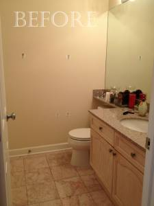 GUEST BATH- BEFORE