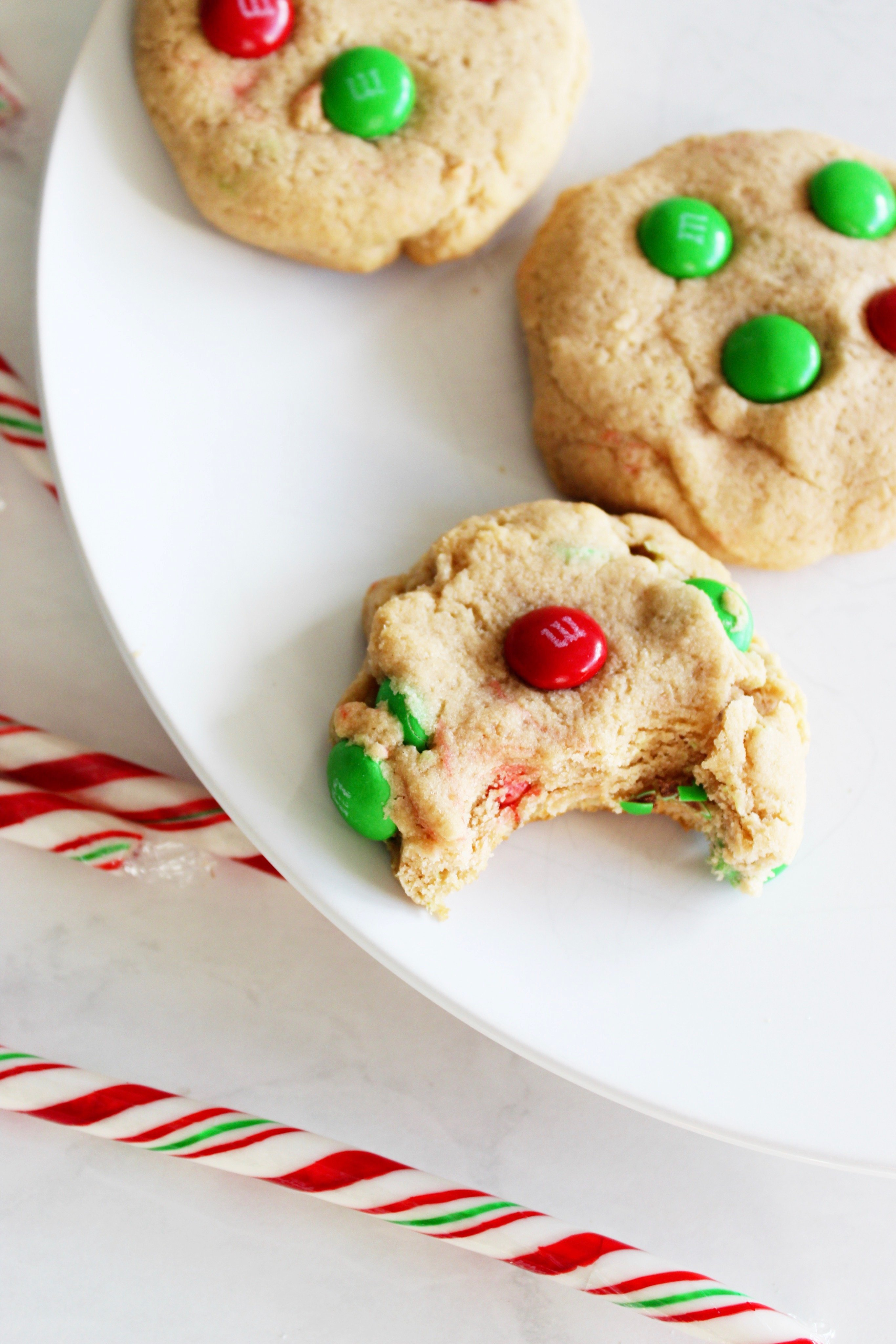Christmas chewy cookies