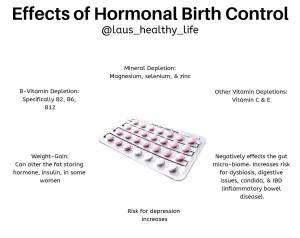 Effects of hormonal birth control