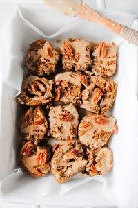 Pumpkin Spiced Cinnamon Rolls [Keto, Paleo, Gluten-Free, Dairy-Free]