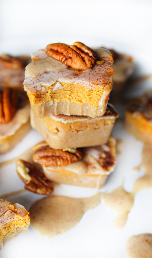 Pumpkin Spiced Truffle Bites