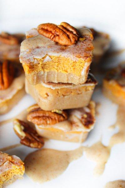 Pumpkin truffle bites