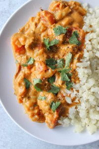 healthy butter chicken