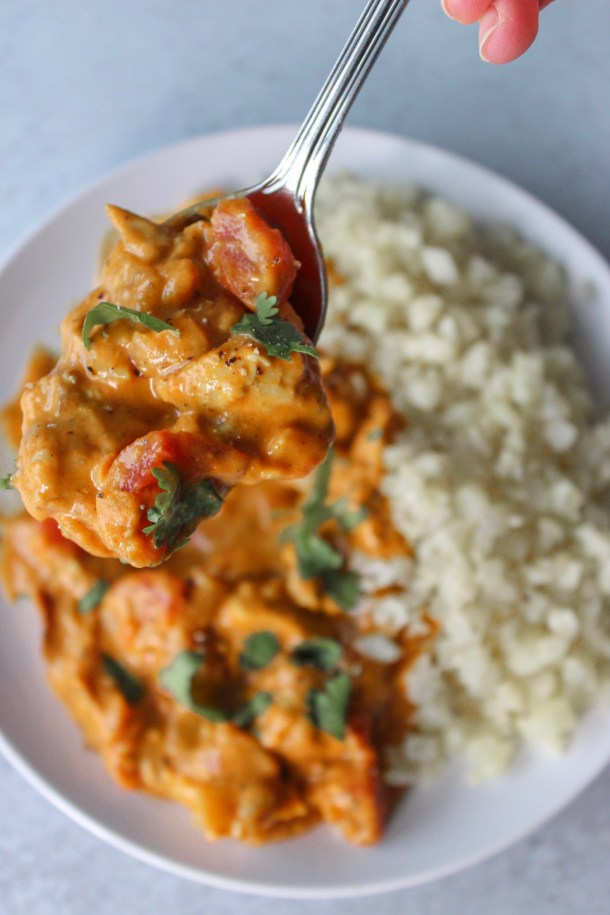 Healthy Whole-30 Butter Chicken
