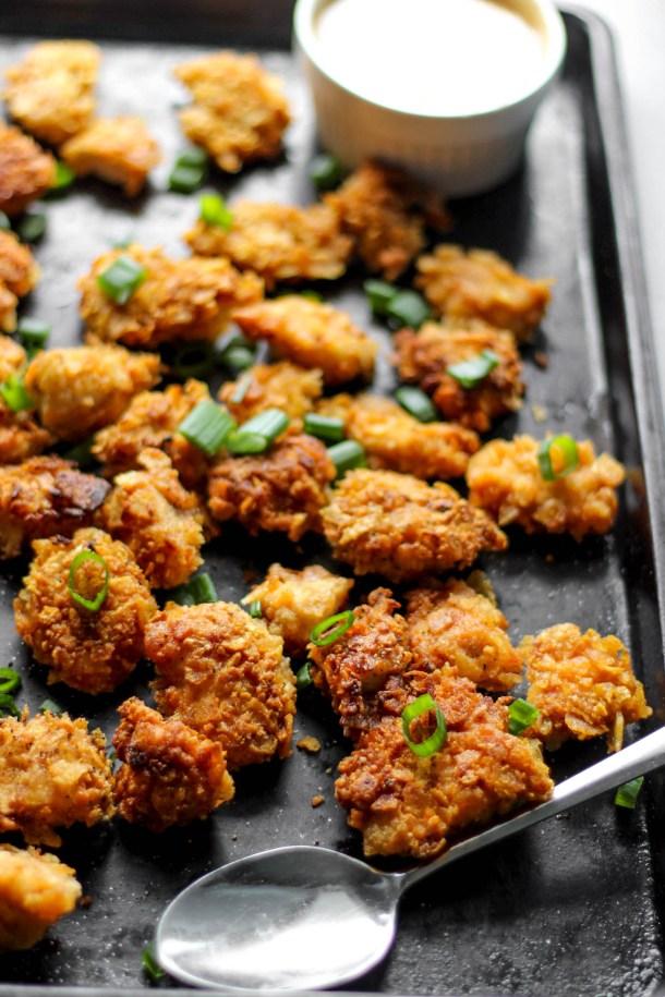 Paleo Popcorn Chicken