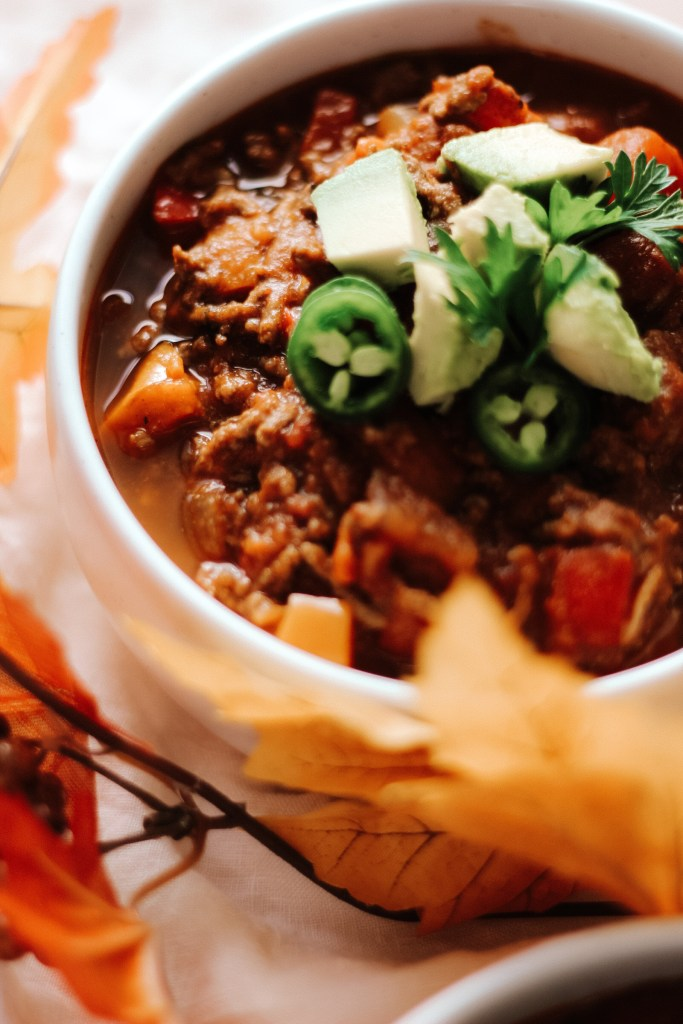 Easy Paleo Pumpkin Chili