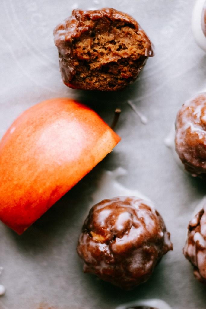 Gluten-Free Apple Fritter Donut Holes