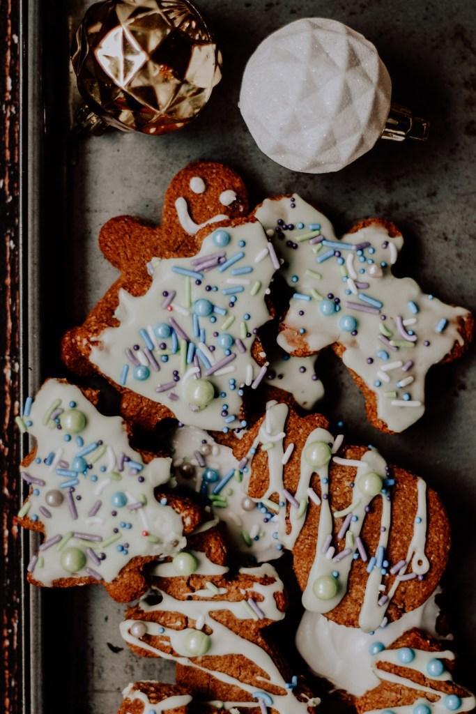 Paleo Gingerbread Cookies