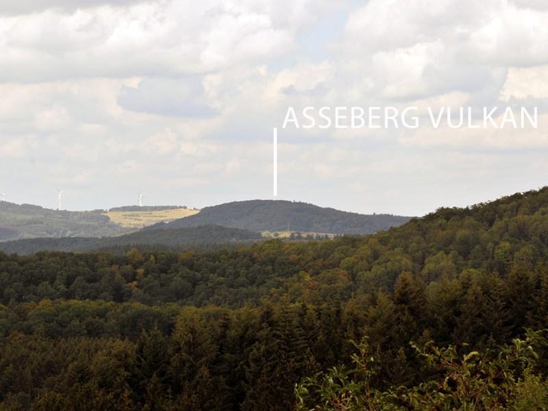 Der Asseberg Vulkan
