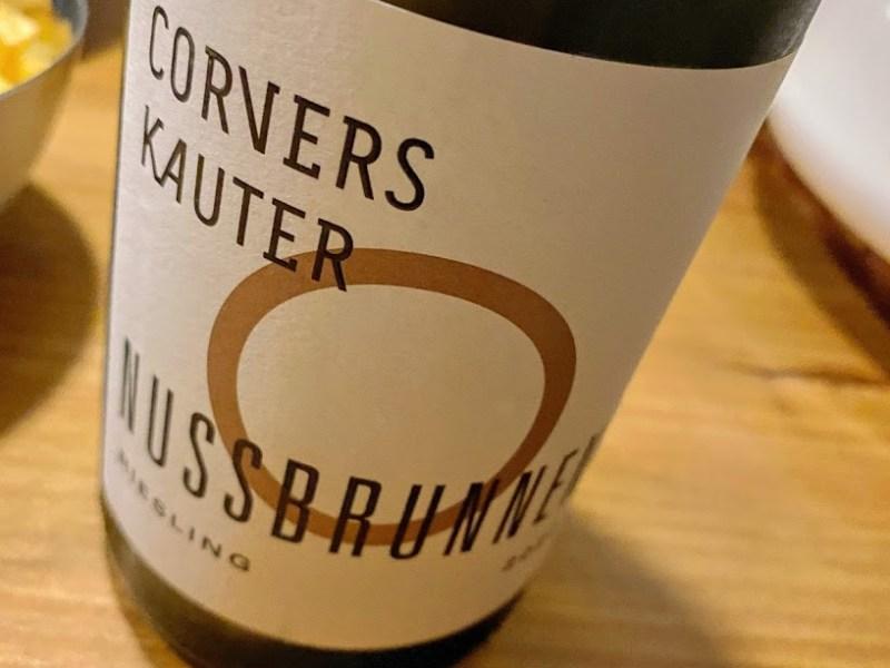 Corvers-Kauter Nussbrunnen – Riesling