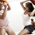 De la lingerie féminine pour les hommes...