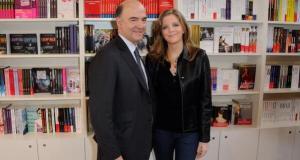 Moscovici et sa compagne
