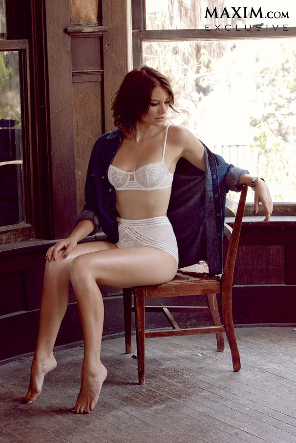Lauren Cohan, alias Maggie Green