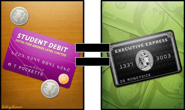 Vous pensez que votre carte de crédit étudiant se transforme miraculeusement en carte à plafond illimité