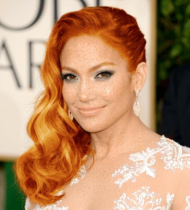 Jennifer Lopez rousse
