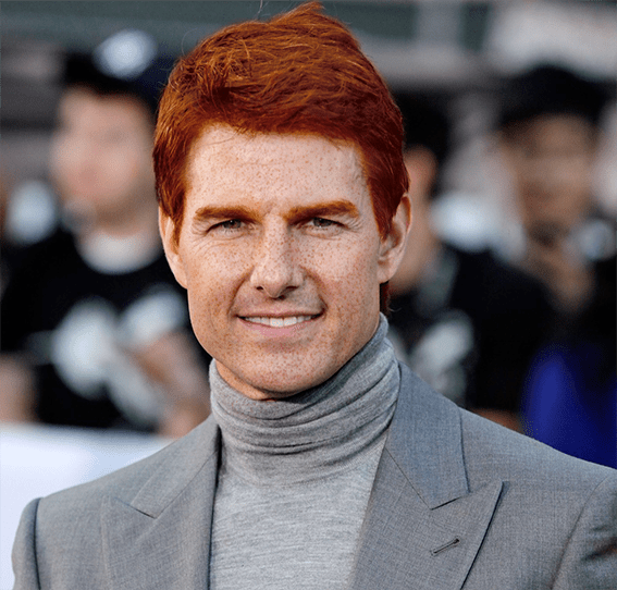 Tom Cruise roux