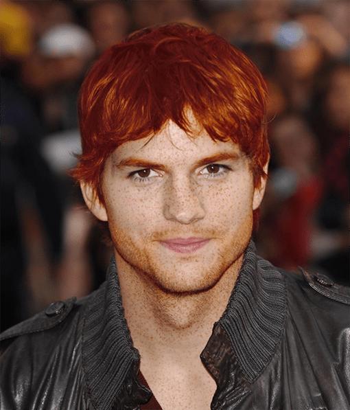 Ashton Kutcher roux