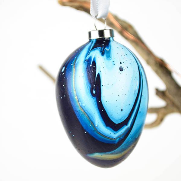 Blauw Turquoise Goud